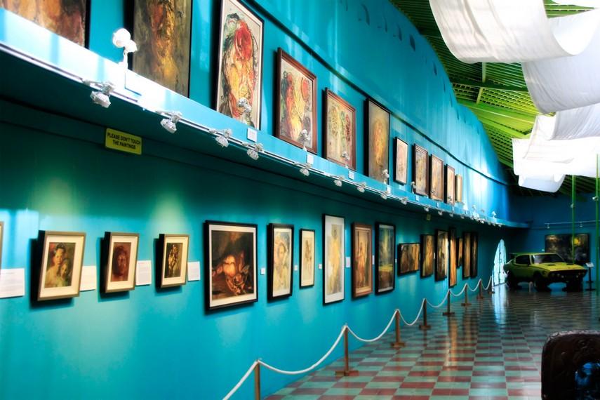 Berbagai Koleksi Lukisan karya Affandi yang ada di Museum Affandi