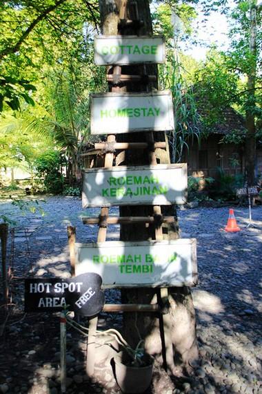 Berbagai fasilitas yang bisa dinikmati pengunjung di Desa Wisata Tembi