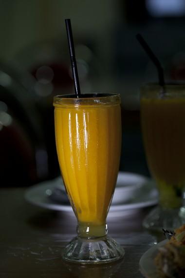 Buah Gandaria yang sudah menjadi minuman jus