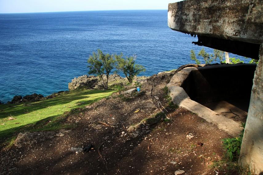 Bunker-bunker di Sabang dibangun mulai tahun 1942, saat Jepang mulai menduduki Sumatra