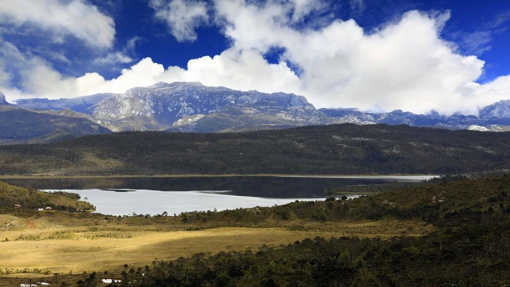 Danau Habema yang merupakan danau tertinggi di Papua