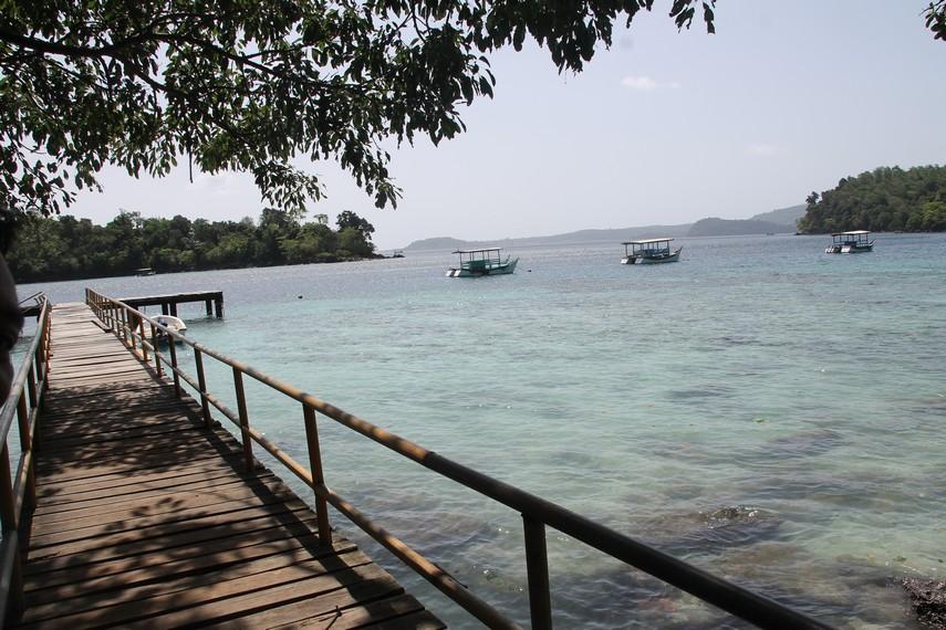 Dermaga Pantai Iboih, banyak sisi yang bisa dijadikan objek eksplorasi fotografi