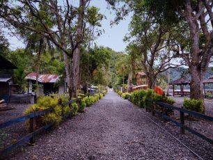 Desa Dengan Kerikil yang Menghampar