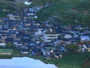 Hangatnya Masyarakat Desa Tertinggi di Pulau Jawa
