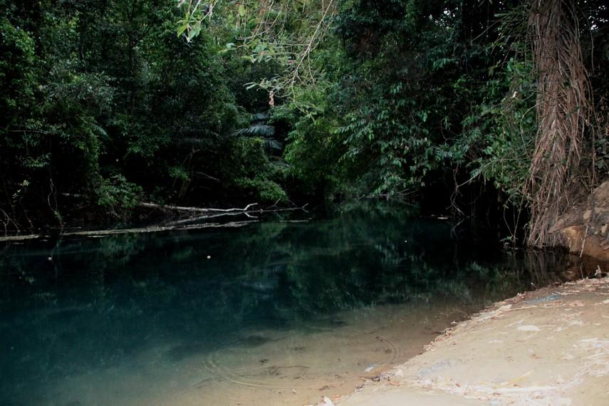 Di Danau Bantimurung, pengunjung dapat melakukan aktivitas memancing