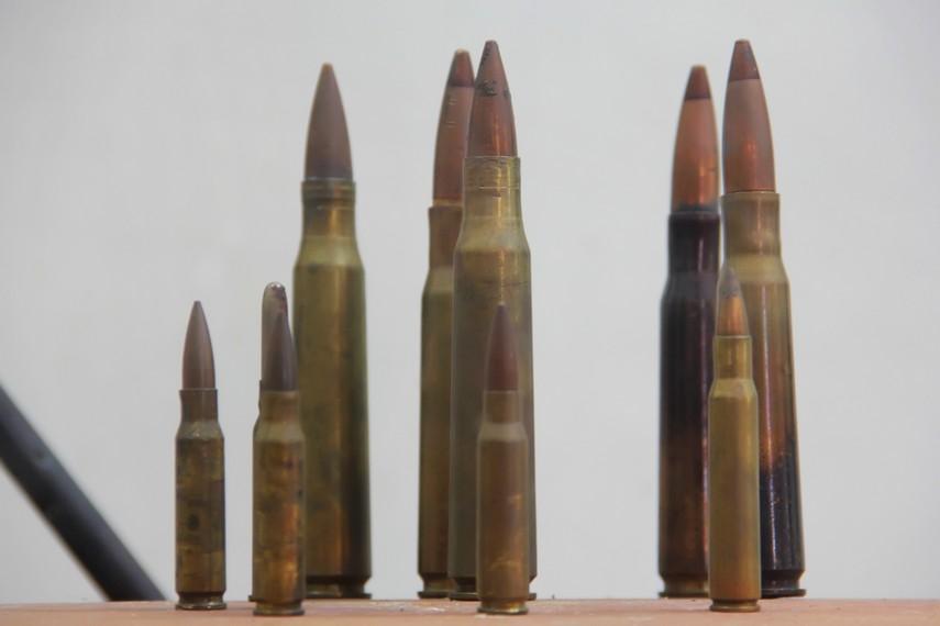 Di Museum Perjuangan, pengunjung dapat melihat peluru yang dahulu pernah digunakan saat perang kemerdekaan