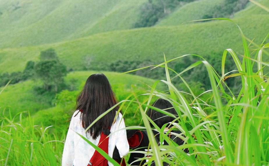 Di sebelah Bukit Telang, terdapat satu bukit bernama Bukit Lintang yang juga tak kalah indahnya