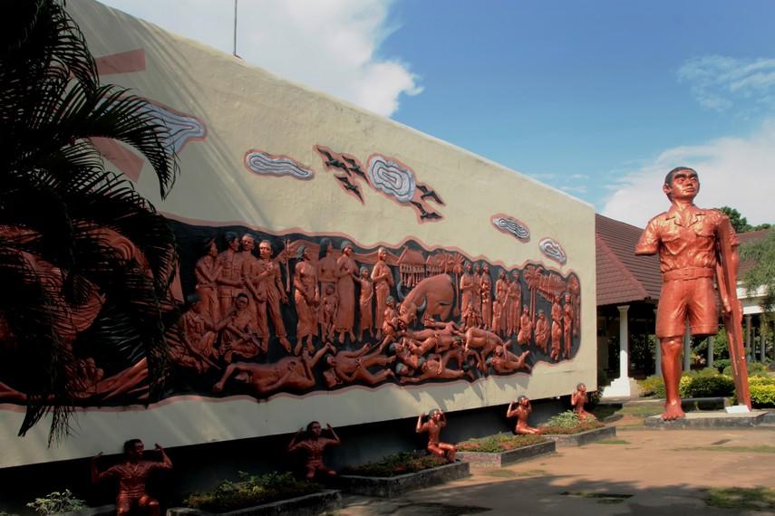 Diorama untuk mengenang korban kekejaman Westerling di Sulawesi Selatan