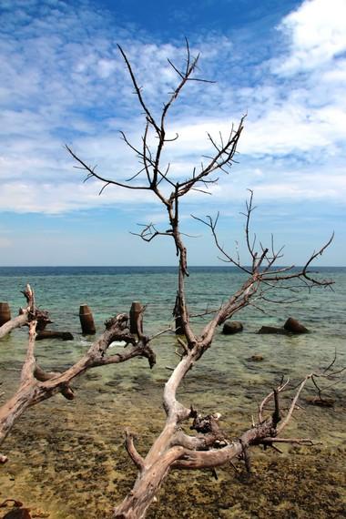 Eksotika Pulau Samalona yang menjadi salah satu objek wisata andalan Makassar
