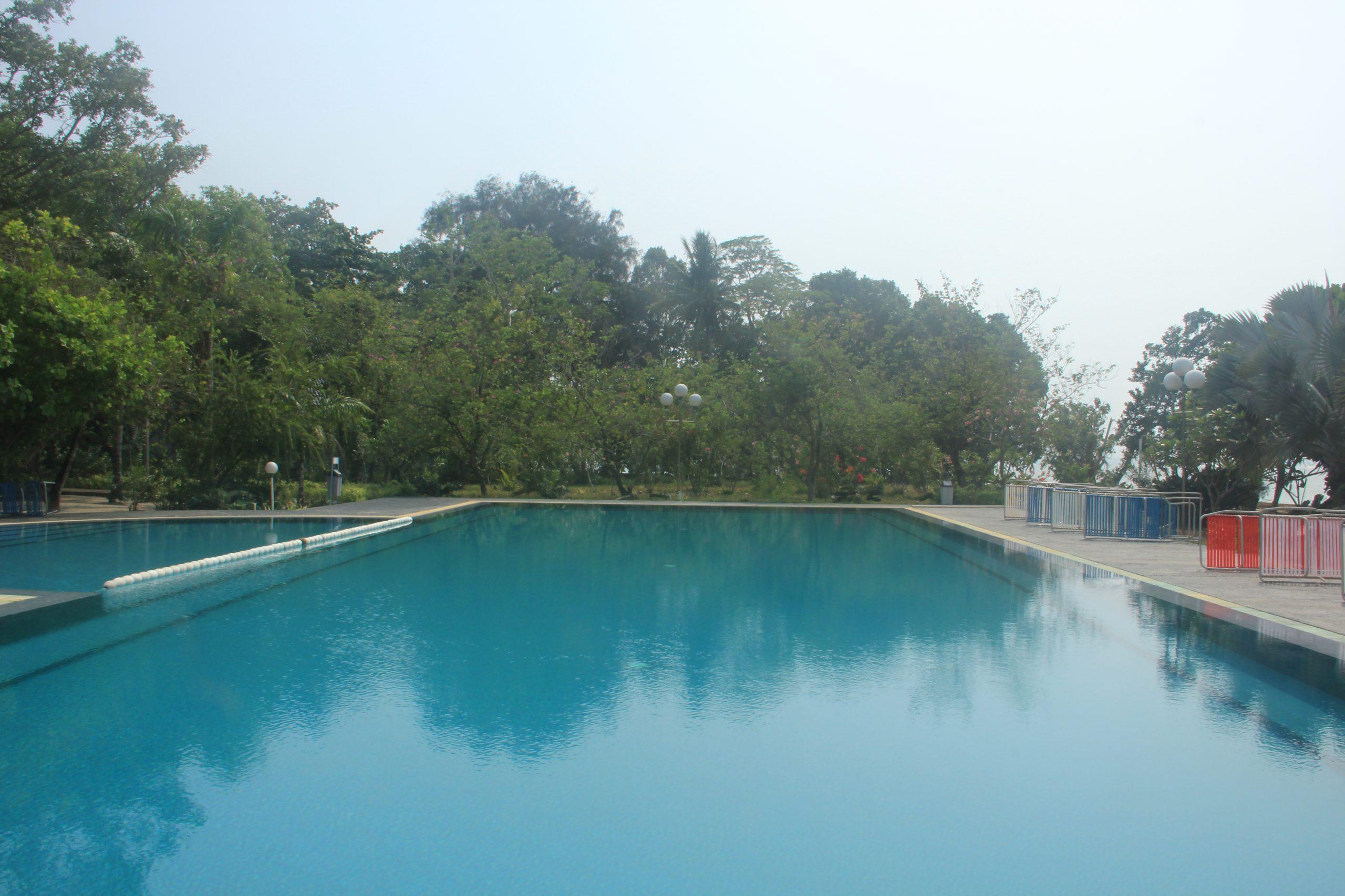 Pulau Putri merupakan satu-satunya pulau di Kepulauan Seribu yang memiliki kolam renang