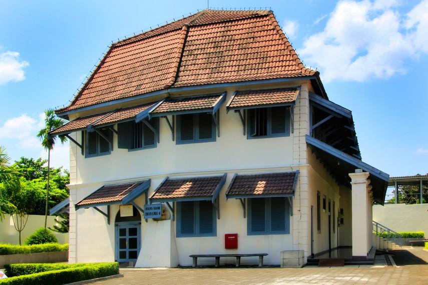 Gedung Diorama 4 Museum yang ada di Benteng Vredeburg
