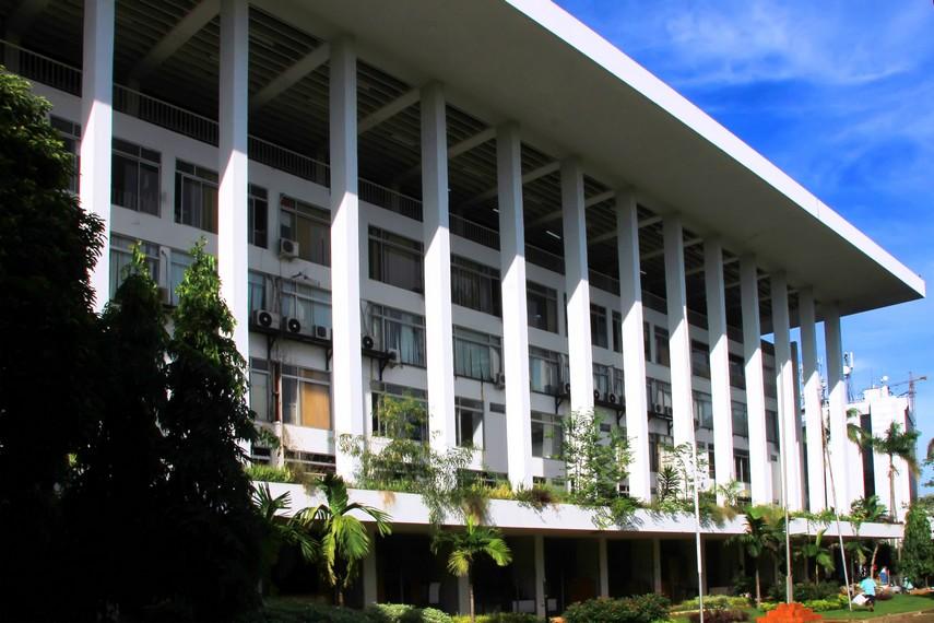 Gedung Semesta, gedung yang dibuat untuk menandai dimulainya pelaksanaan Pembangunan Nasional Semesta Berencana