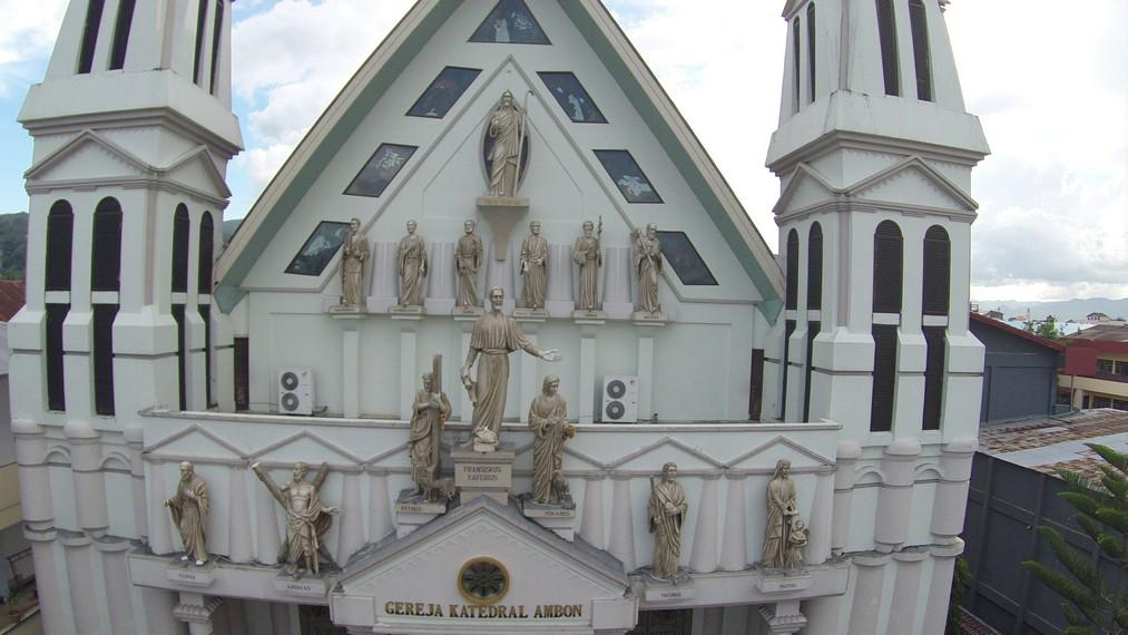 Gereja Katedral Ambon Fransiskus Xaverius