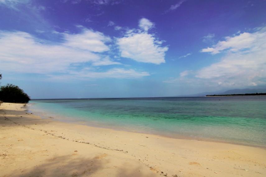 Gili Meno dapat dijangkau dari Pelabuhan Bangsal di Lombok