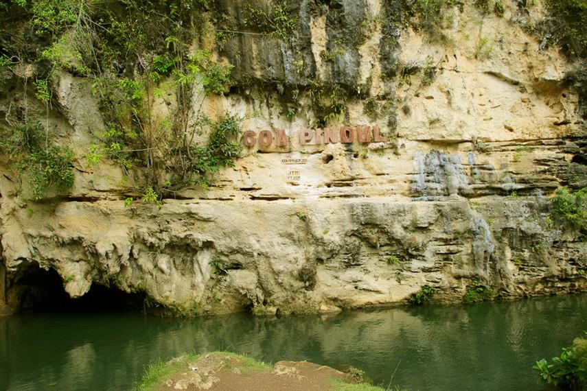 Wisata petualangan susur gua berair ini dibangun pada tahun 2011