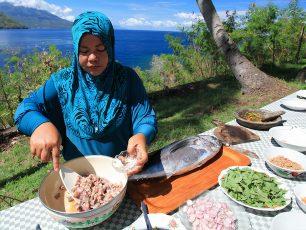 Gohu Ikan, Sashimi ala Ternate