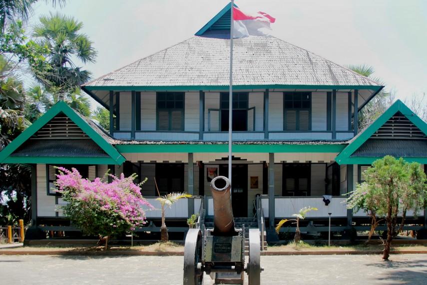 Halaman depan Museum Karaeng Pattingaloang