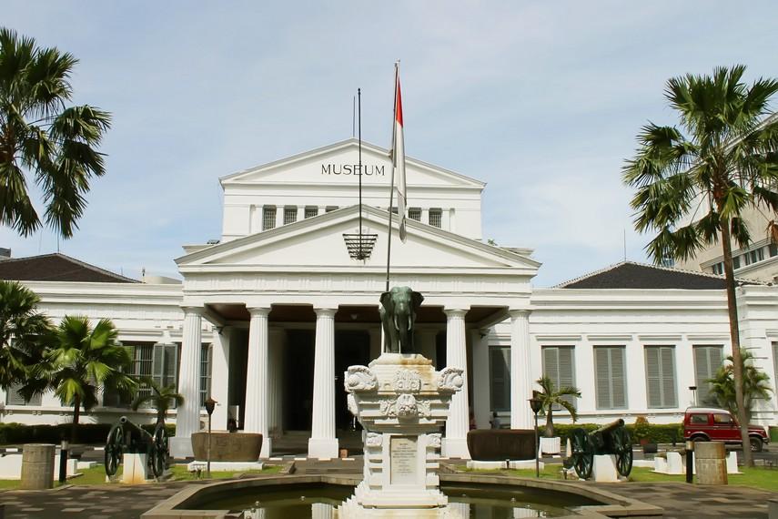Halaman depan Museum Nasional