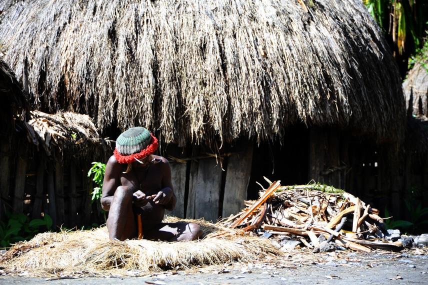 Honai Pilamo, tempat tinggal para kaum laki-laki dewasa