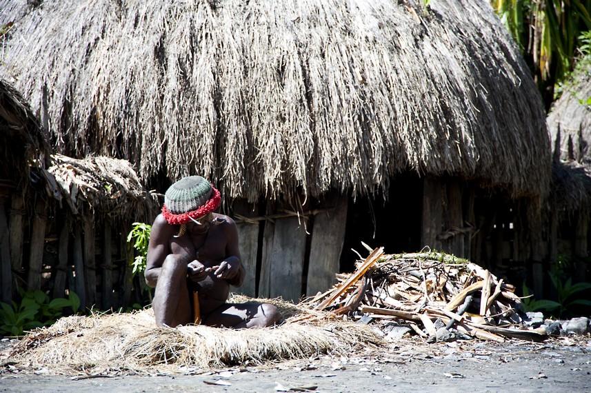Honai adalah sebutan bagi rumah rumah suku Dani