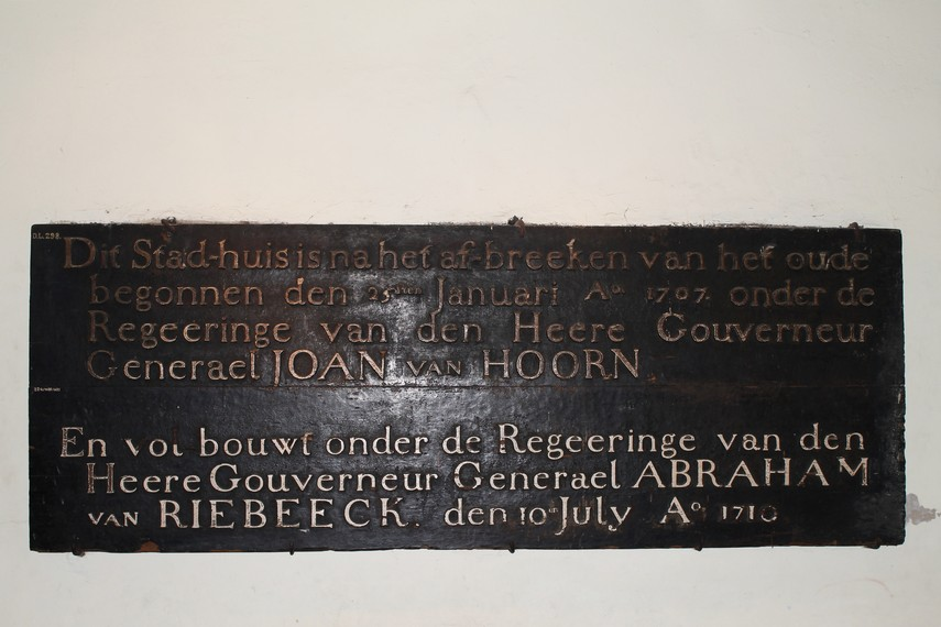 Salah satu prasasti peninggalan Belanda