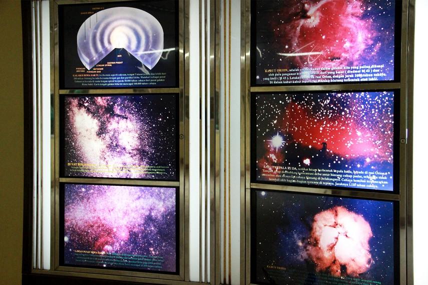 Planetarium Tenggarong menjadi salah satu wahana pendidikan bagi masyarakat mengenal berbagai benda langit