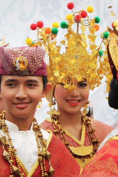 Masyarakat Lampung Melinting menetap dan tinggal di Kecamatan Labuhan Maringgai, Lampung Timur