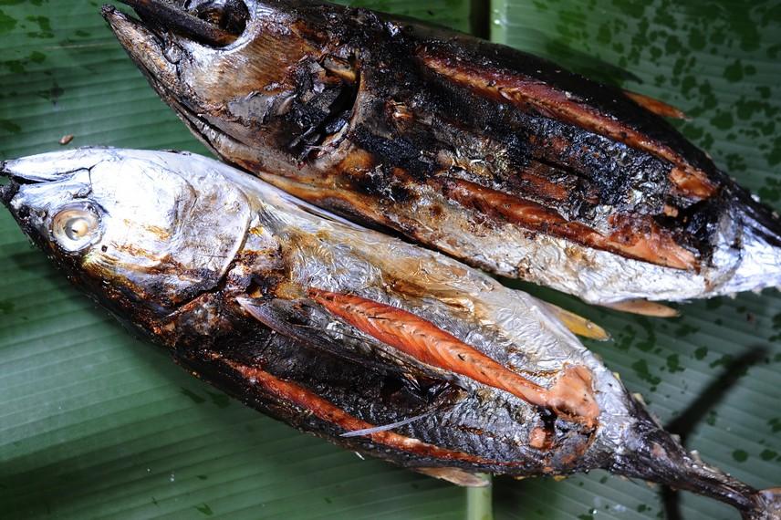 Ikan Asar yang sudah matang dan siap untuk disajikan atau diolah lagi