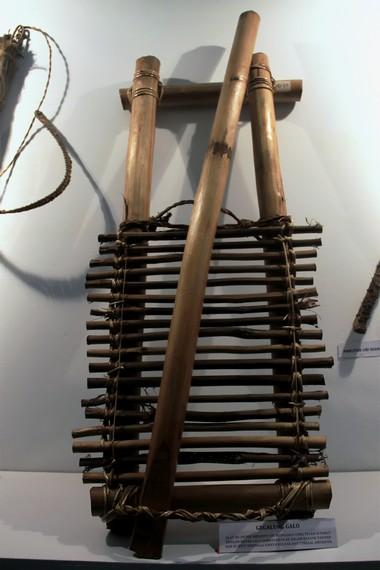 Inilah gegalung galo, alat yang digunakan untuk menjepit ubi