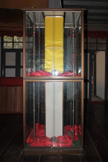 Inilah tombak yang menjadi peninggalan Kerajaan Gowa