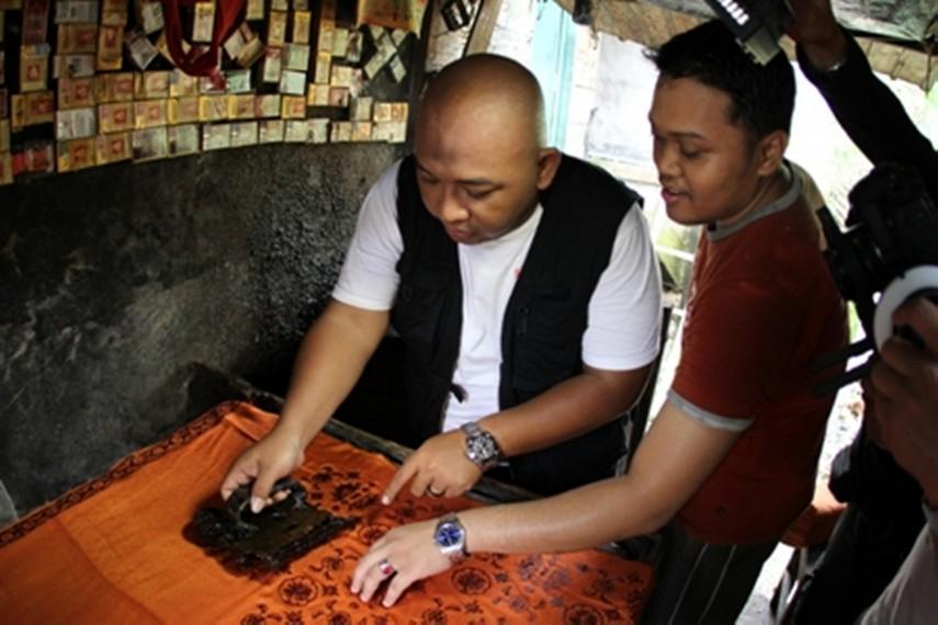 Pencetakan motik Batik Jambi