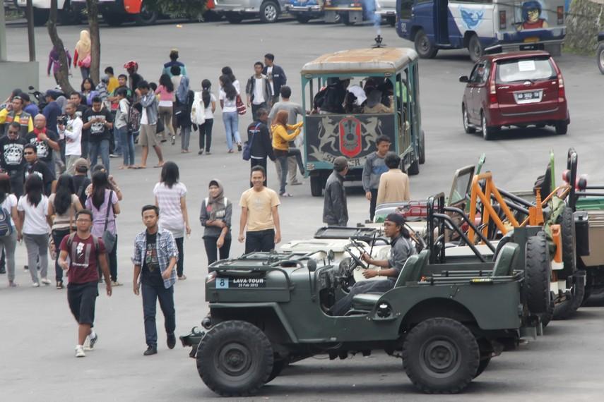 Jasa Penyewaan Jeep di Kaliurang