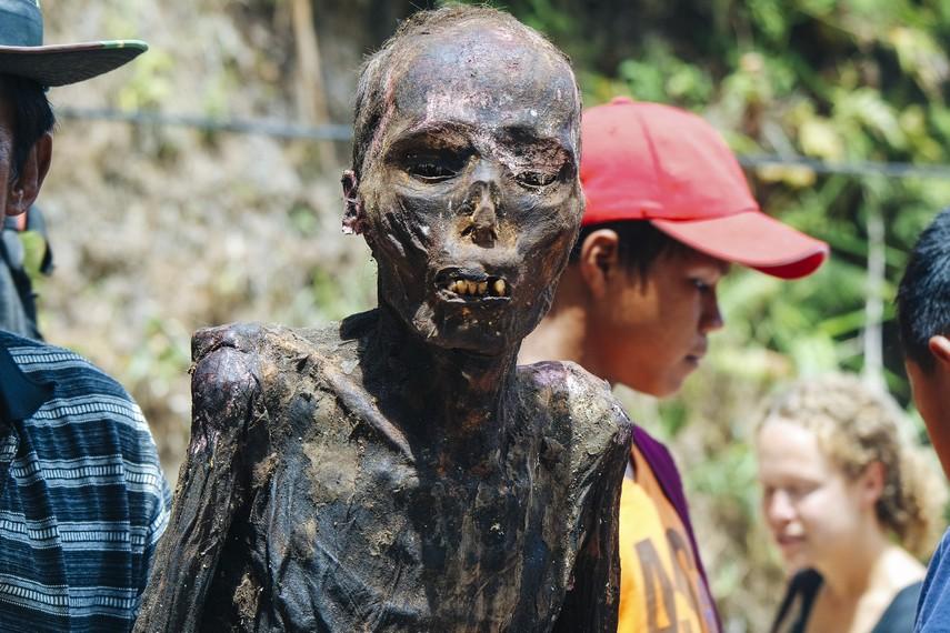 Jasad para leluhur itu sudah berumur puluhan hingga ratusan tahun