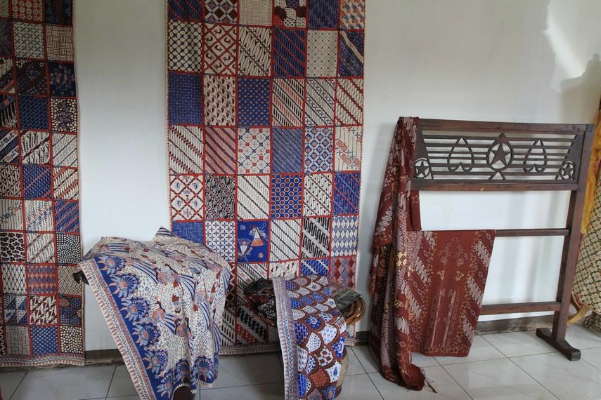 Aneka motif Batik Garut