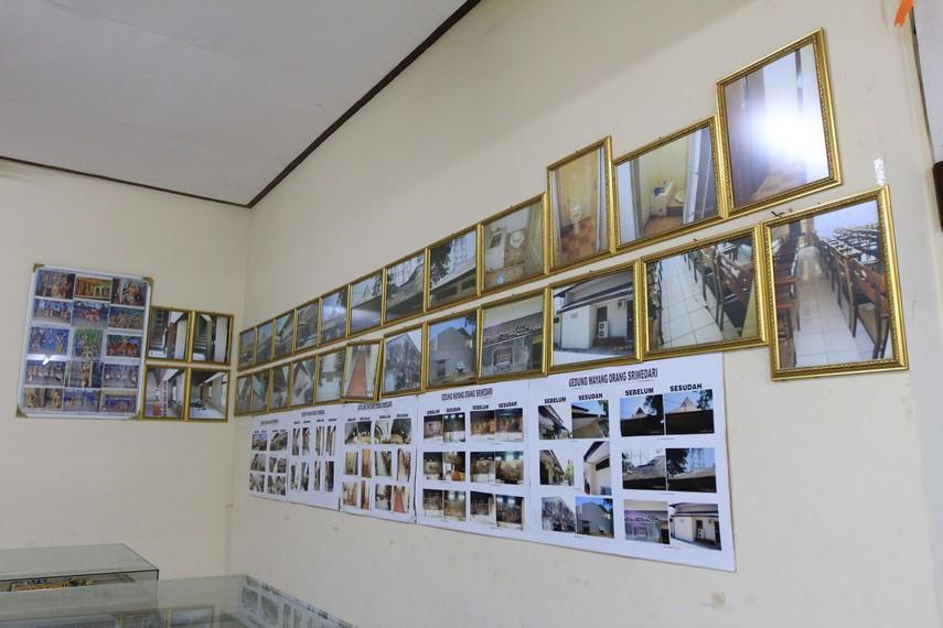 Galeri lokasi pertunjukkan Wayang Orang