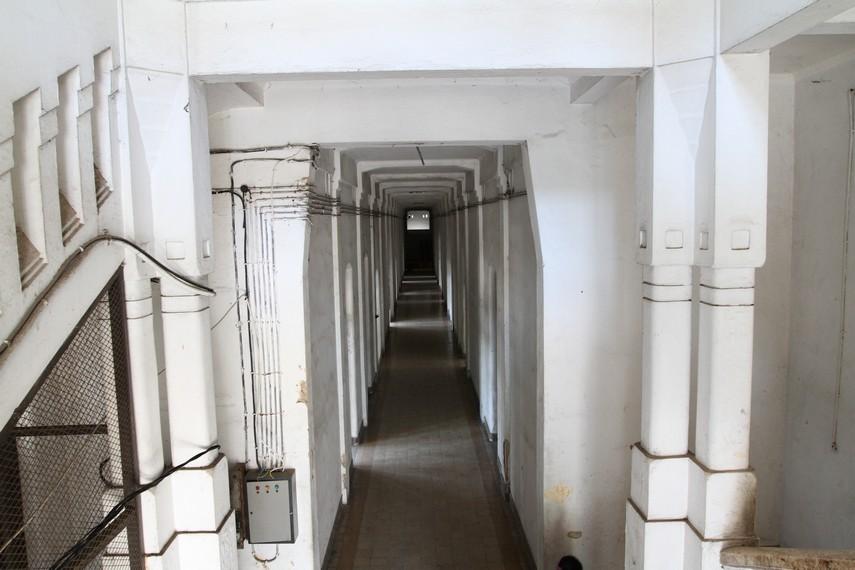 Lorong dalam gedung Lawang Sewu