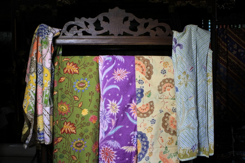 Aneka motif batik Pekalongan
