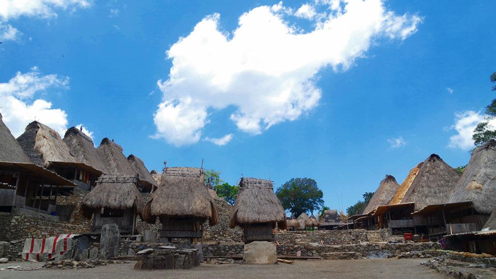 Kampung Bena merupakan sebuah perkampungan megalitikum yang terletak di Kabupaten Ngada, NTT