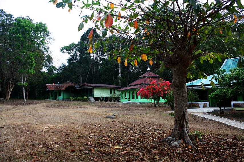 Kawasan Taman Nasional Way Kanan juga dilengkapi beberapa fasilitas untuk pengunjung yang ingin lebih lama berada di sini