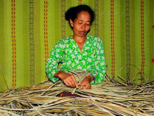 Beranyam, Kerajinan Khas Wanita Desa Tepal