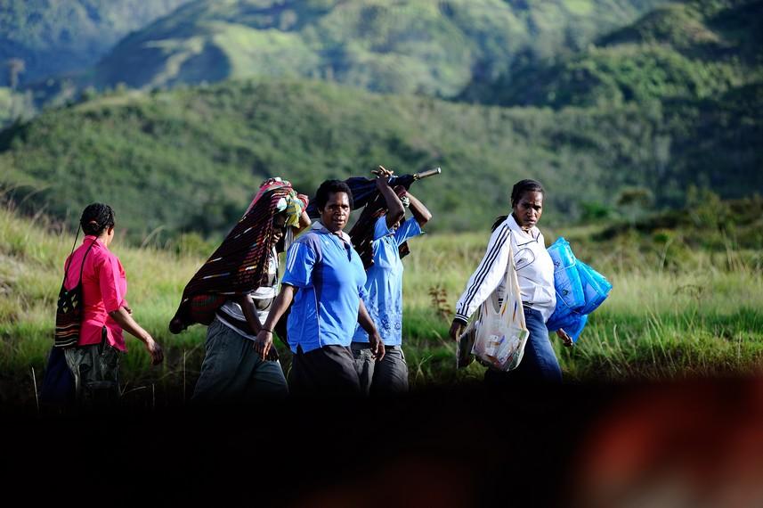 Kehidupan Masyarakat Wamena