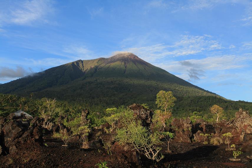 Keindahan Gunung Gamalama