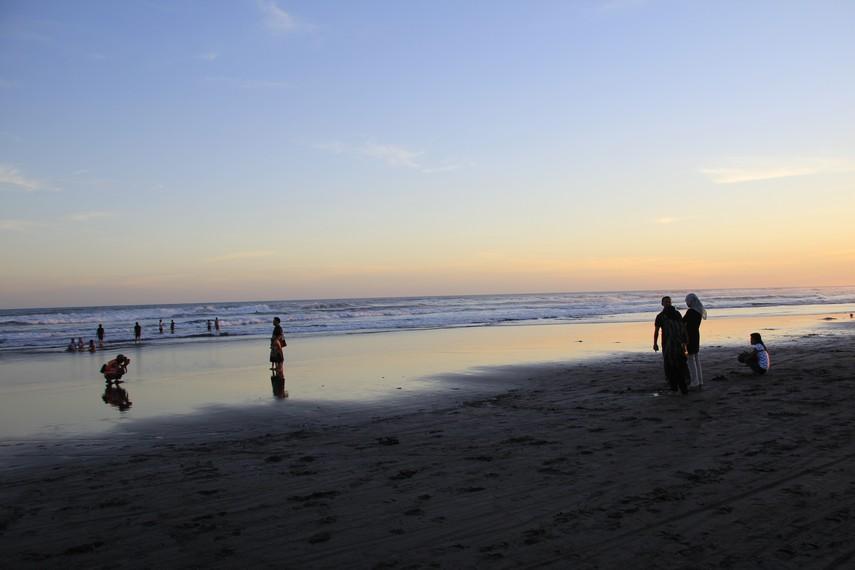 Beberapa ritual sering diadakan di pantai ini, seperti ritual Labuhan yang biasa diadakan setiap tanggal 1 Suro