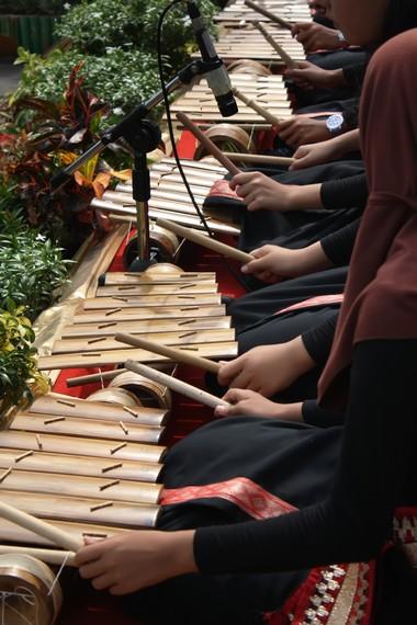 Kini, instrumen Gamolan Pekhing menjadi materi muatan lokal sekolah-sekolah di Lampung