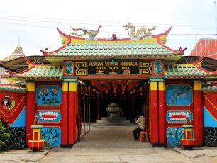 Klenteng Boen San Bio, Klenteng Akulturasi Budaya Tangerang