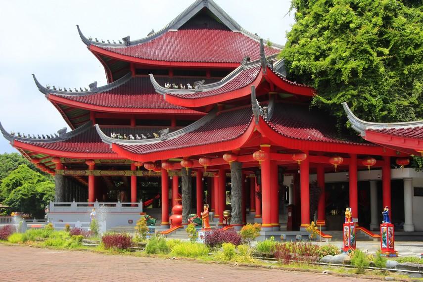 Klenteng Sam Poo Kong menjadi salah satu klenteng terbesar di Semarang