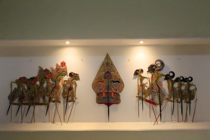 Koleksi wayang yang dimiliki Museum Ranggawarsita
