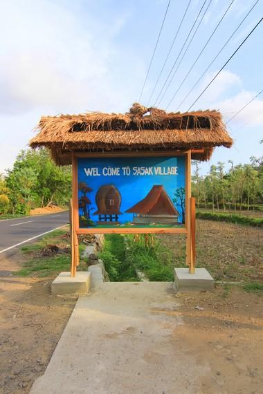 Letak Dusun Ende berada di tepi jalan sehingga mudah ditemui