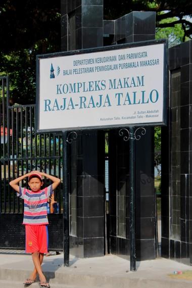 Makam Raja-raja Tallo terletak di Jalan Sultan Abdullah, Makassar
