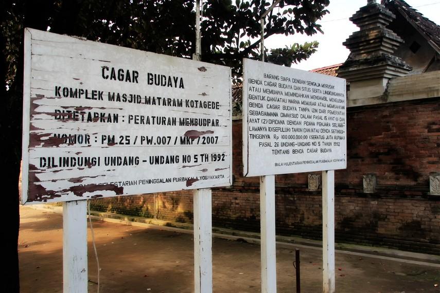 Makam Raja Mataram menjadi salah satu benda cagar budaya yang dimiliki Indonesia